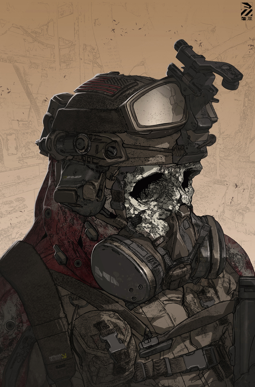 Zombie Hell Trooper.