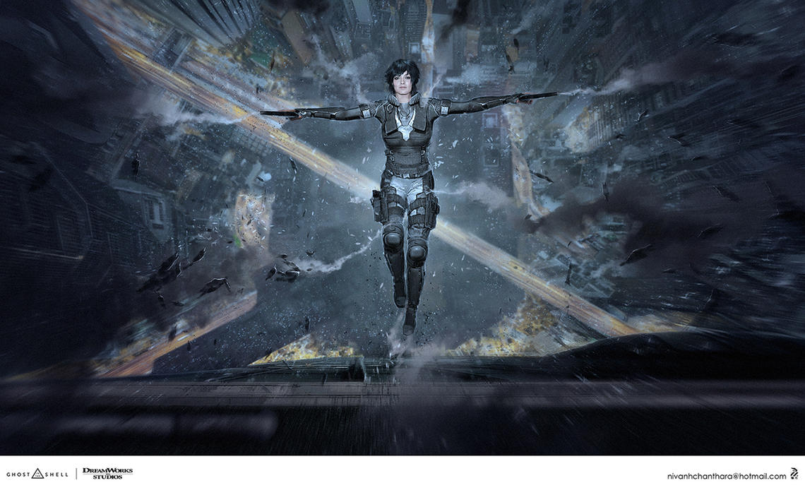 Ghost In The Shell concept art. by duster132