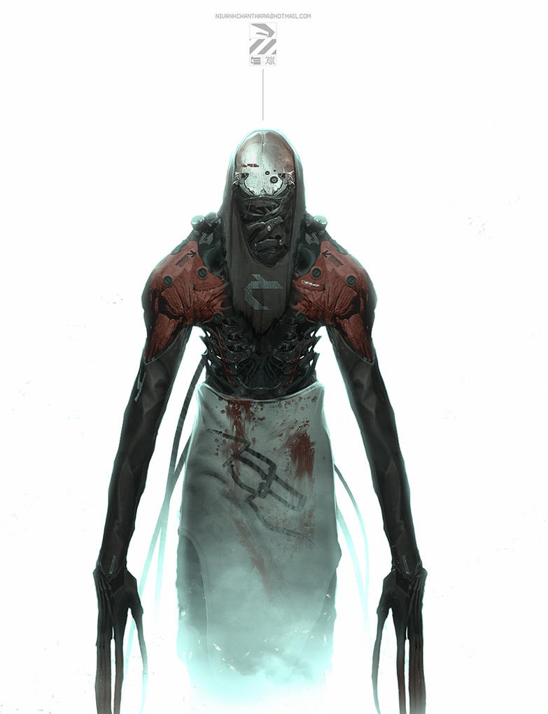 Creepy dude. by duster132
