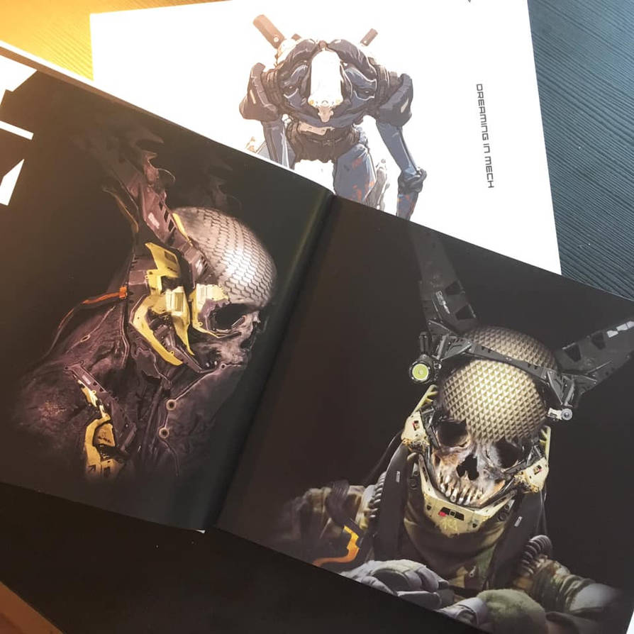 My artbook is now available worldwide. by duster132