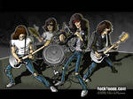 Ramones cartoon