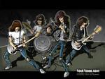 Ramones cartoon