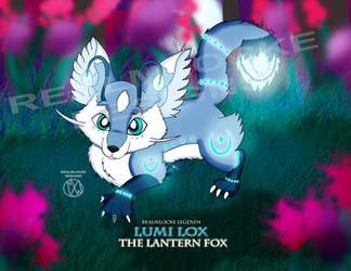 Lumi Lox: The Lantern Fox Redesign by anbumsw