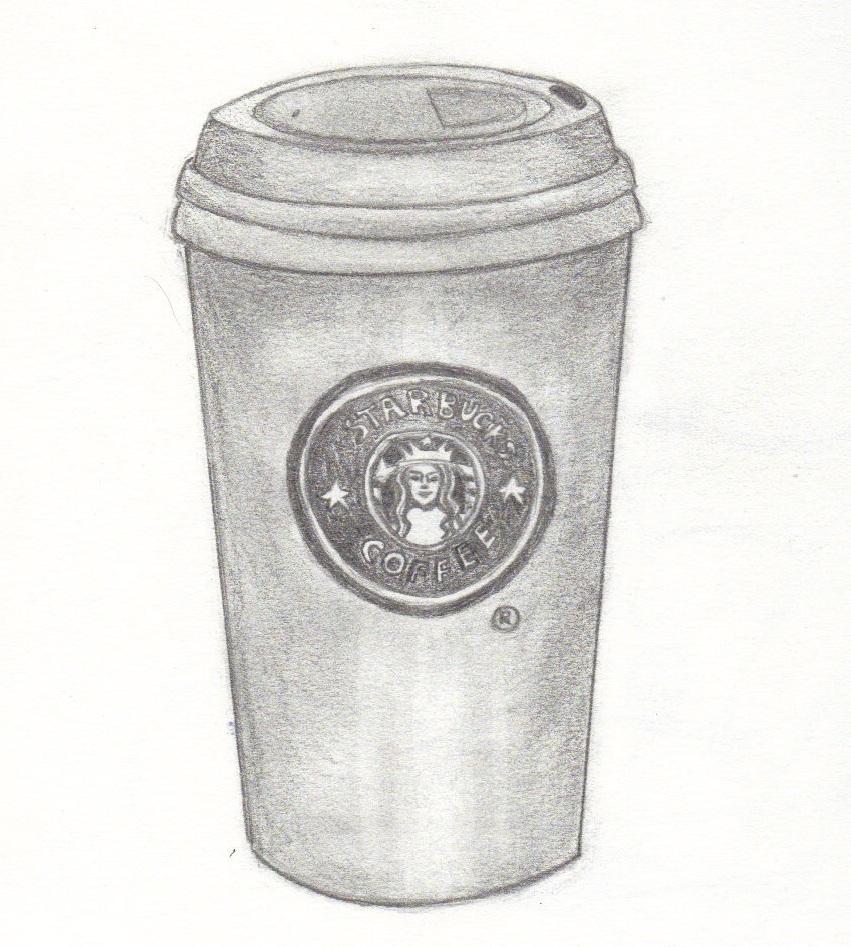 Starbucks coffee cup by redotaku98 on DeviantArt