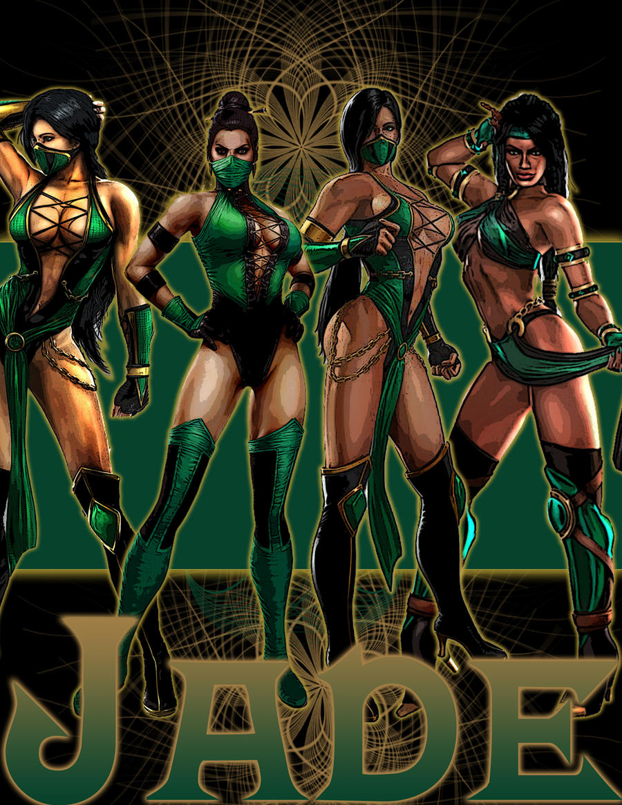 Mortal kombat jade follando what