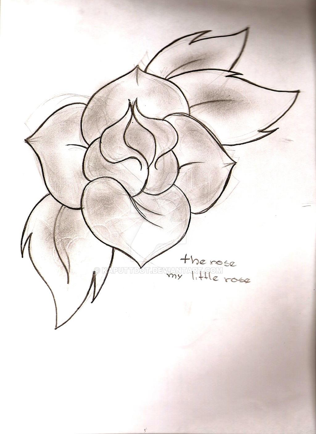 Pretty Flower By Kaputtdot On Deviantart