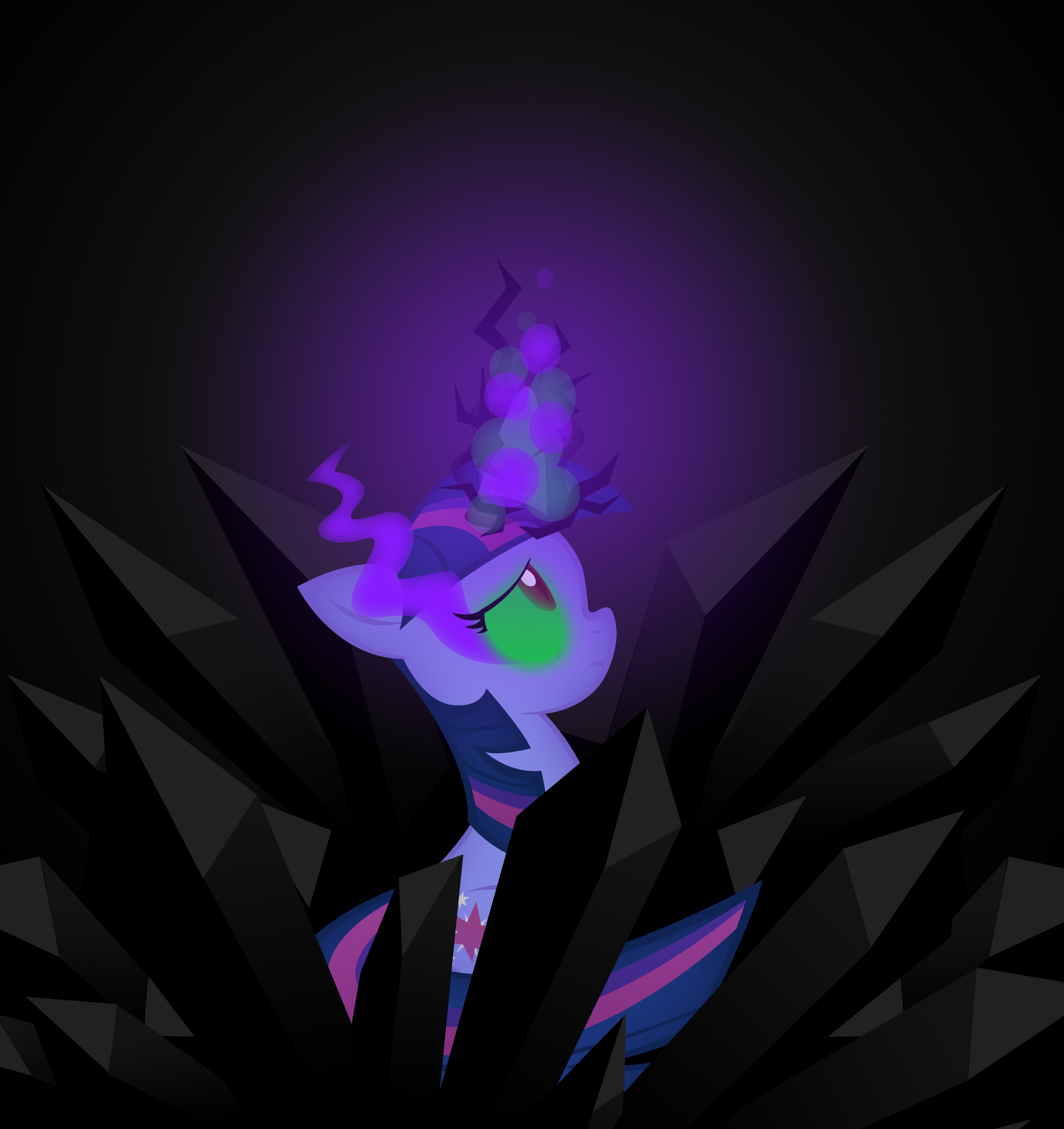 Drowning_In_shadows by OmegaSunBurst