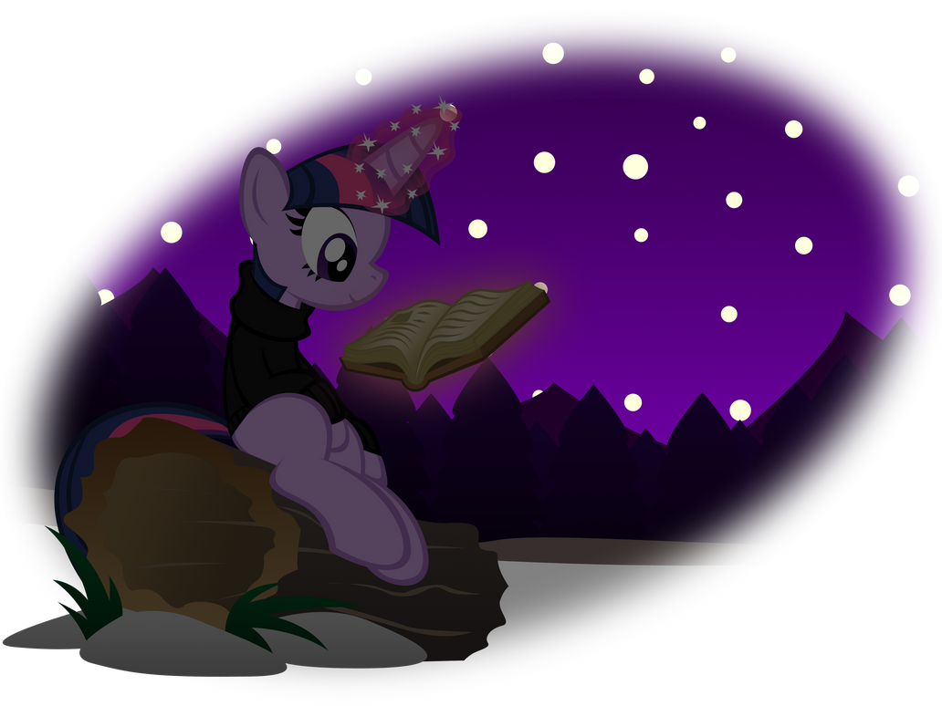 Reading wilderness by OmegaSunBurst