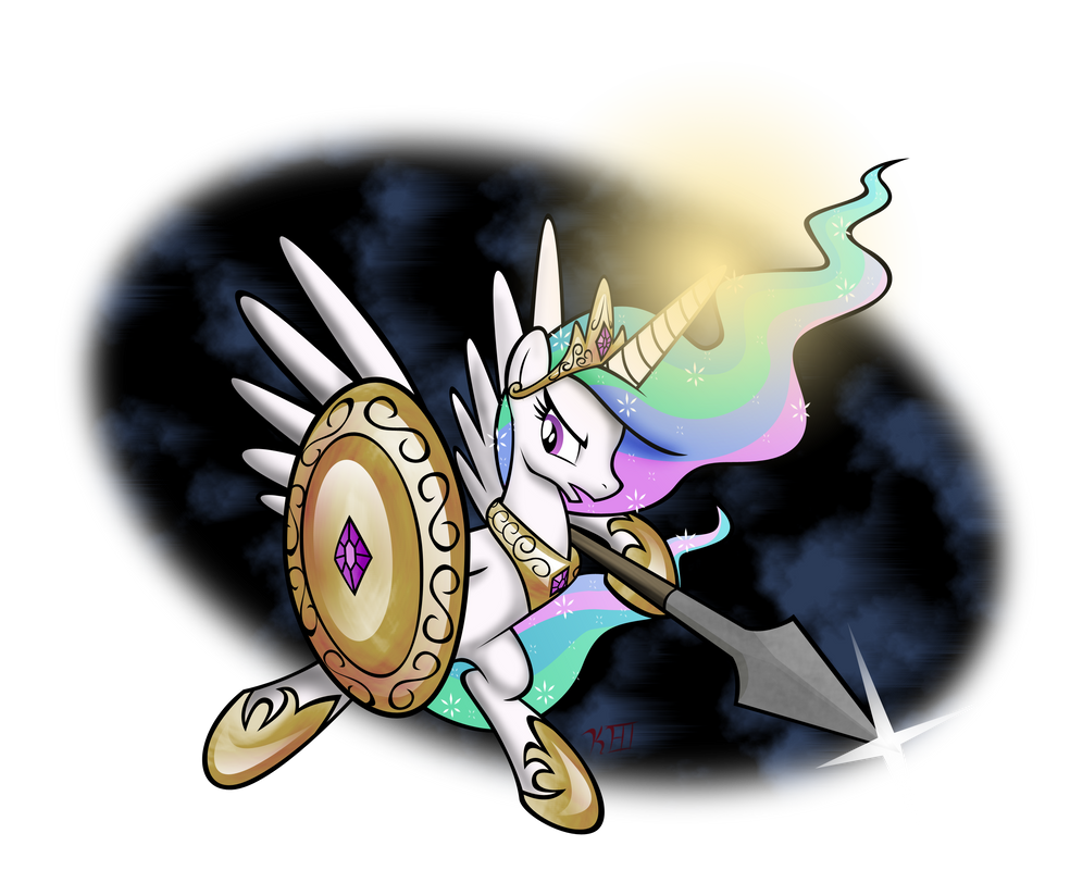 Epic_Celestia by OmegaSunBurst