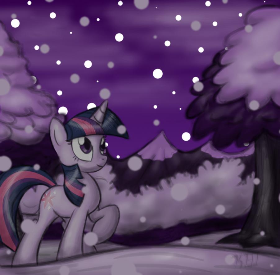 winter wonderland by OmegaSunBurst
