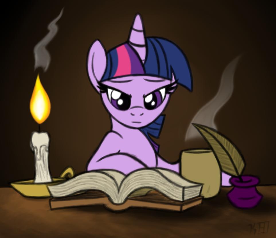 Twi Reading by OmegaSunBurst