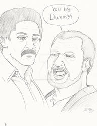 Junk Men Doodle