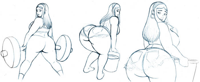 Kenzie Doodles19 by OmegaSunBurst
