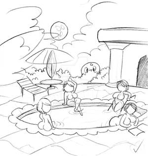 BatGal Pool party (WIP)