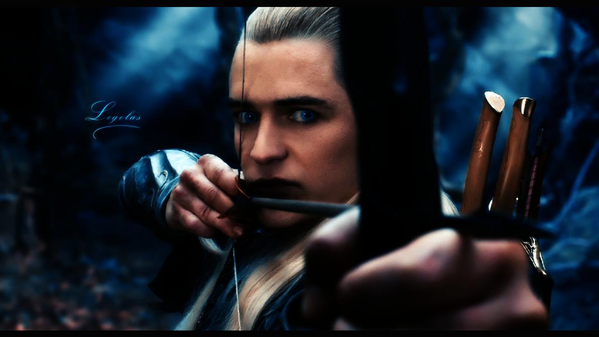 Legolas Background - The Hobbit by PinguAlex