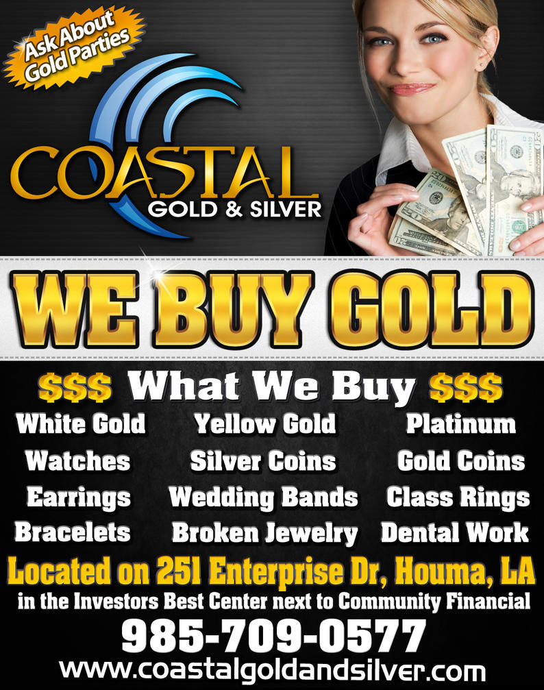 We Buy Gold Ad by mbotran on DeviantArt