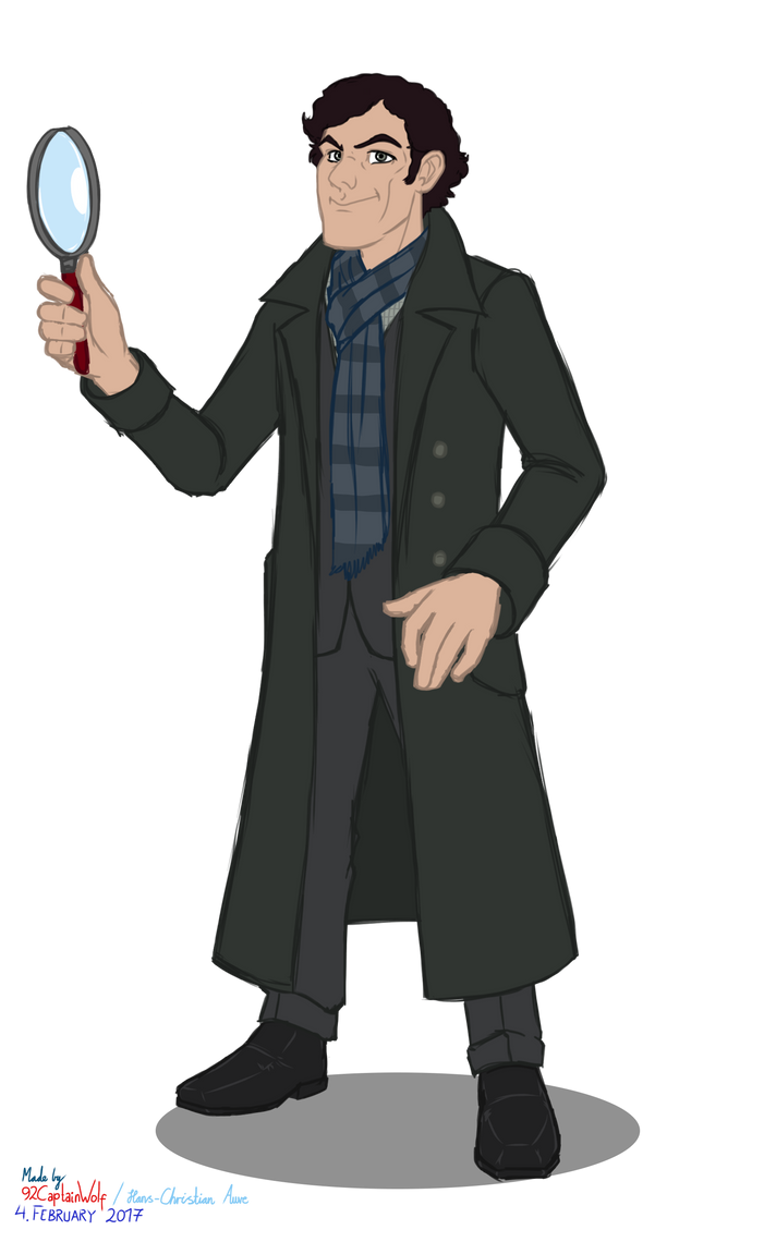 Sherlok Holmes by 92CaptainWolf