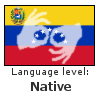 Venezuelan Sign Language - Native by 92CaptainWolf