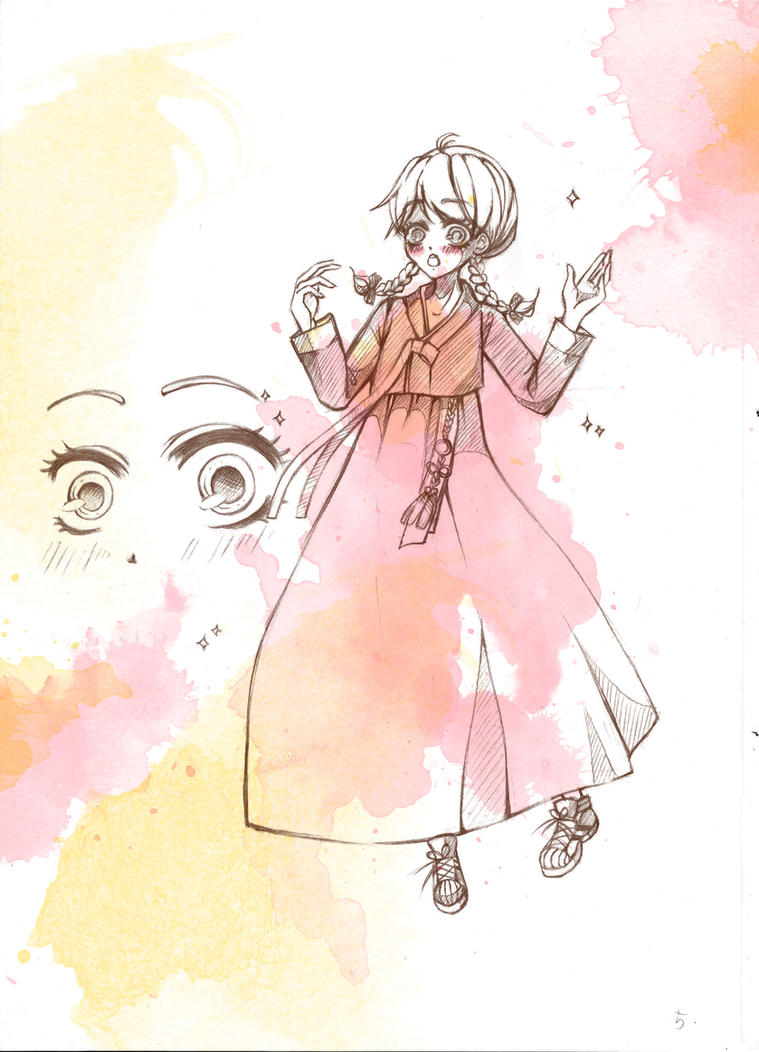 Hanbok by Miyanko-chan
