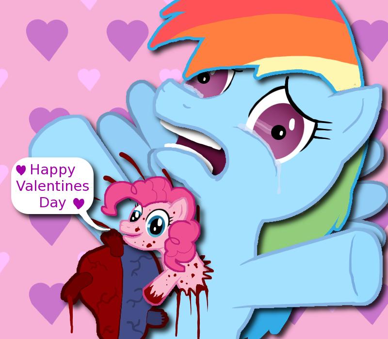 MLP FIM: Valentine Chestburster by Super-Zombie