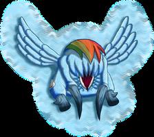 Rainbow Dash: Headcrab by Super-Zombie