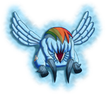 Rainbow Dash: Headcrab