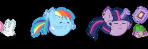 MLP FIM: Emoticons by Super-Zombie