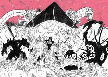 Doom Duat Cover by MetalLearner