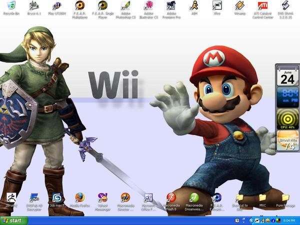 Updated Desktop by zents