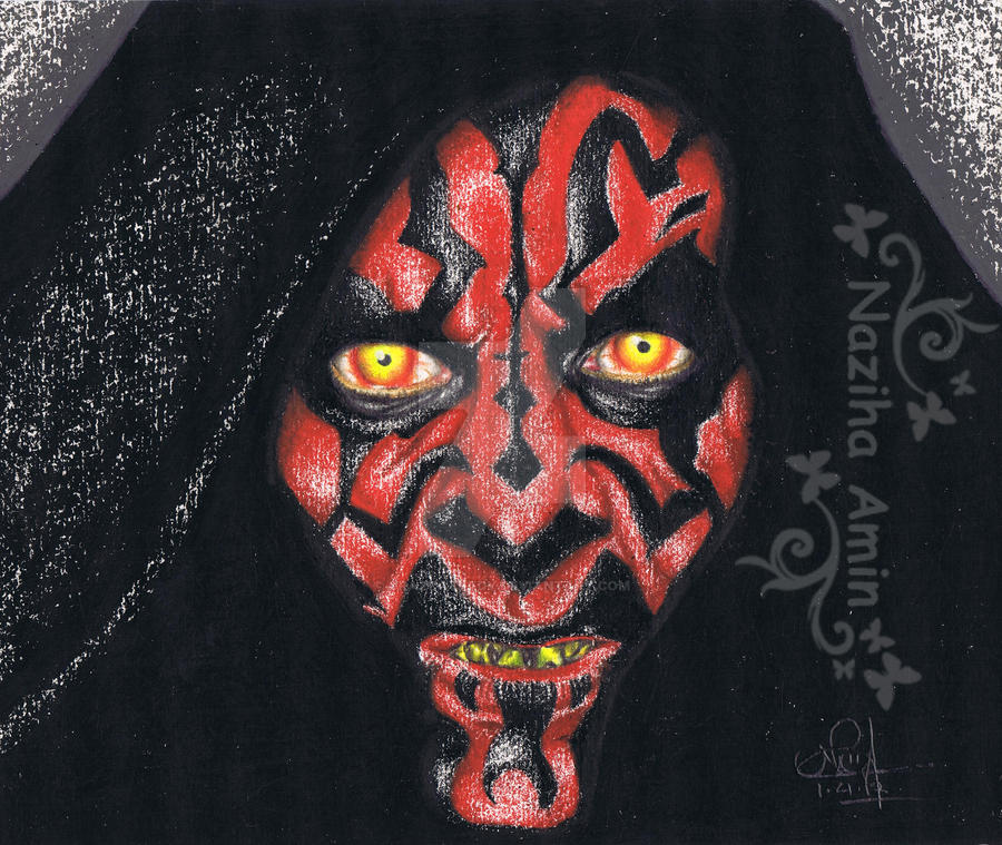 Darth Maul by CraZcatLady