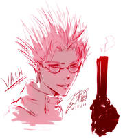 Trigun - Vash by dairytea