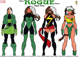 Rogue Series: Part Two by SavageMouse