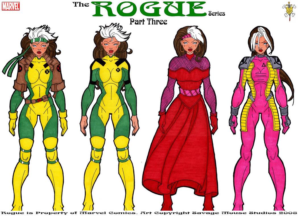 Rogue Series: Part Three by SavageMouse