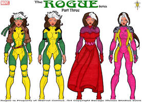 Rogue Series: Part Three by SavageMouse