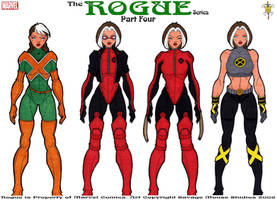 Rogue Series: Part Four by SavageMouse
