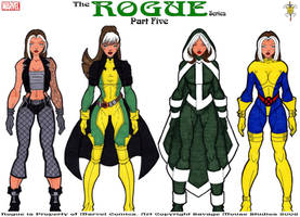 Rogue Series: Part Five by SavageMouse