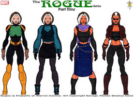 Rogue Series: Part Nine by SavageMouse