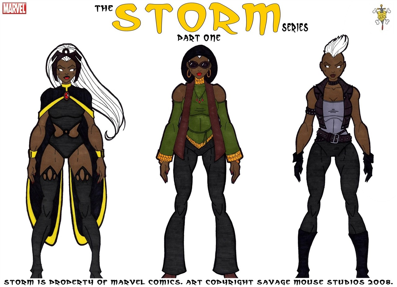 Storm Series: Part One by SavageMouse