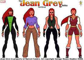 Jean Grey Series: Part Eleven by SavageMouse
