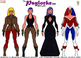 Psylocke Series: Part One by SavageMouse