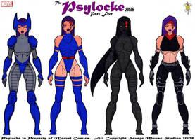 Psylocke Series: Part Five by SavageMouse
