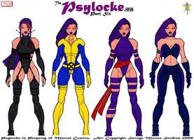 Psylocke Series: Part Six by SavageMouse
