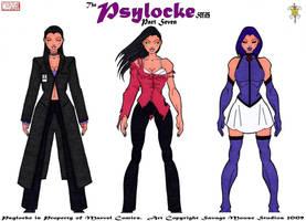 Psylocke Series: Part Seven by SavageMouse