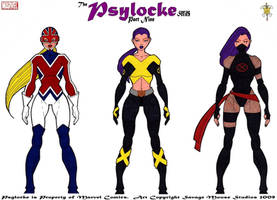 Psylocke Series: Part Nine by SavageMouse