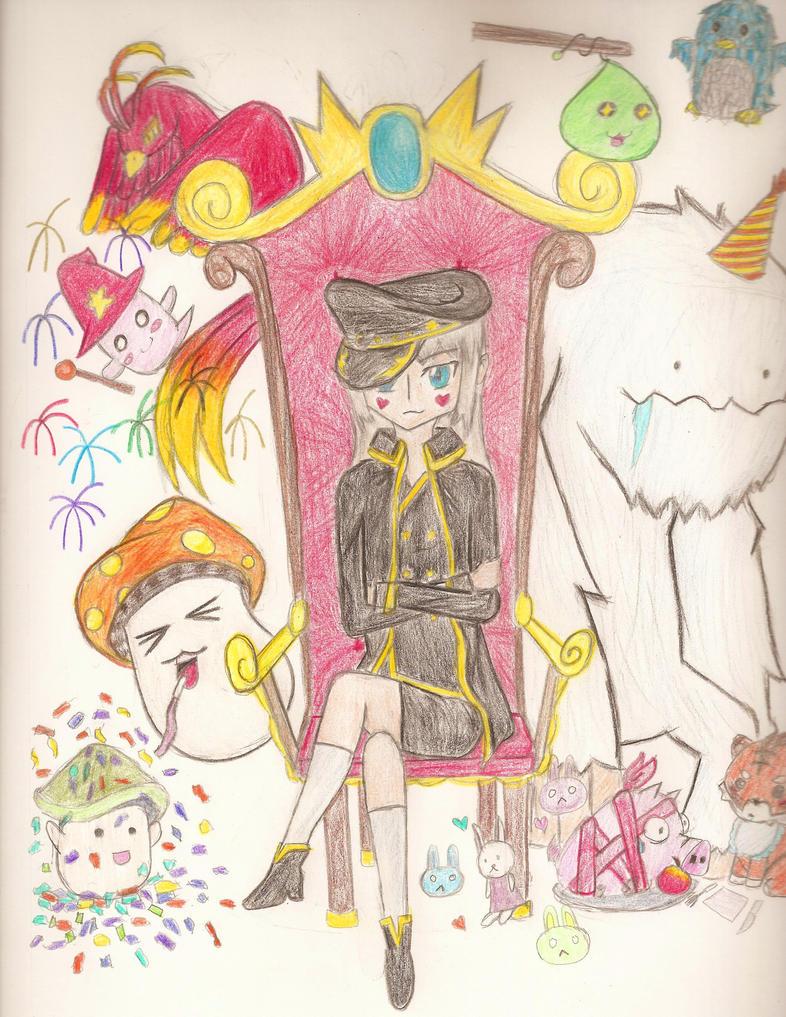 Party Time [MapleFans Contest] by Aukuma
