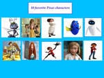 Top 10 Favorite Pixar Characters