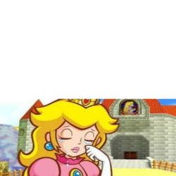 What Makes Princess Peach Sad Template.  by darknessawakens13