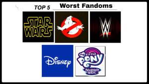 Top 5 Worst Fandoms