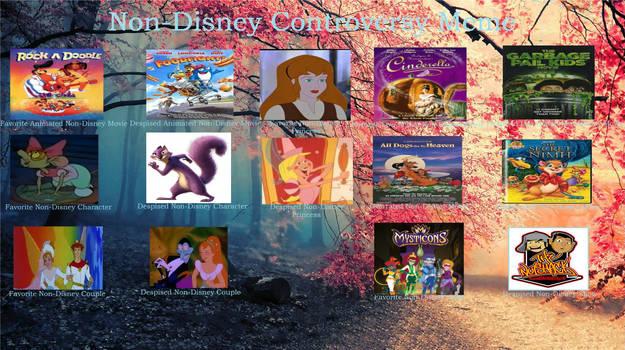 My Non Disney Controversy Meme