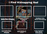 I Find Kidnapping Sad